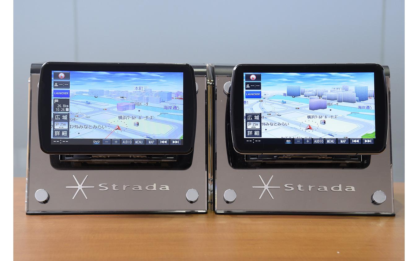 『CN-F1XVD』と『CN-F1DVD』を並べてみると違いは出るが両機種共に満足度は高い