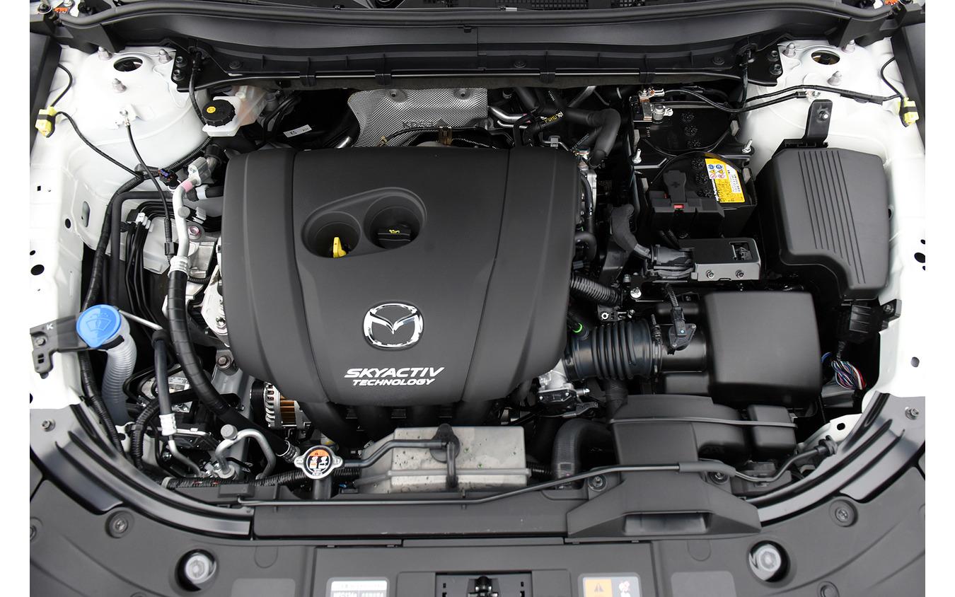 マツダ CX-8 改良新型に搭載される2.5リットル自然吸気エンジン「SKYACTIV-G 2.5」