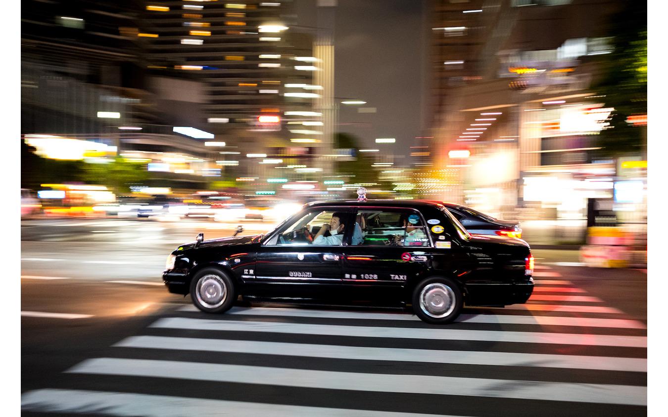 日本のタクシー(参考画像)