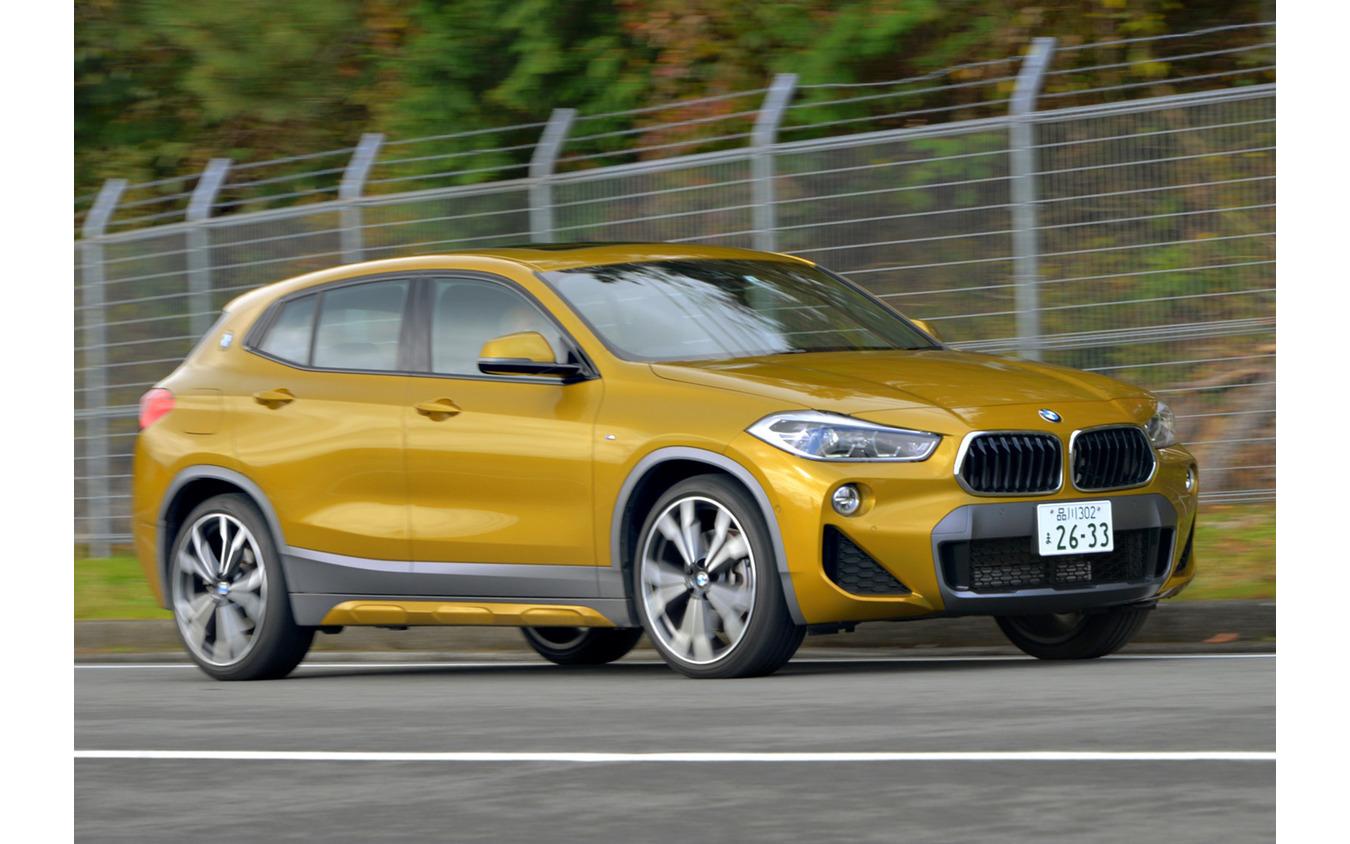 BMW X2(2018-2019日本カー・オブ・ザ・イヤー 10ベスト試乗会)