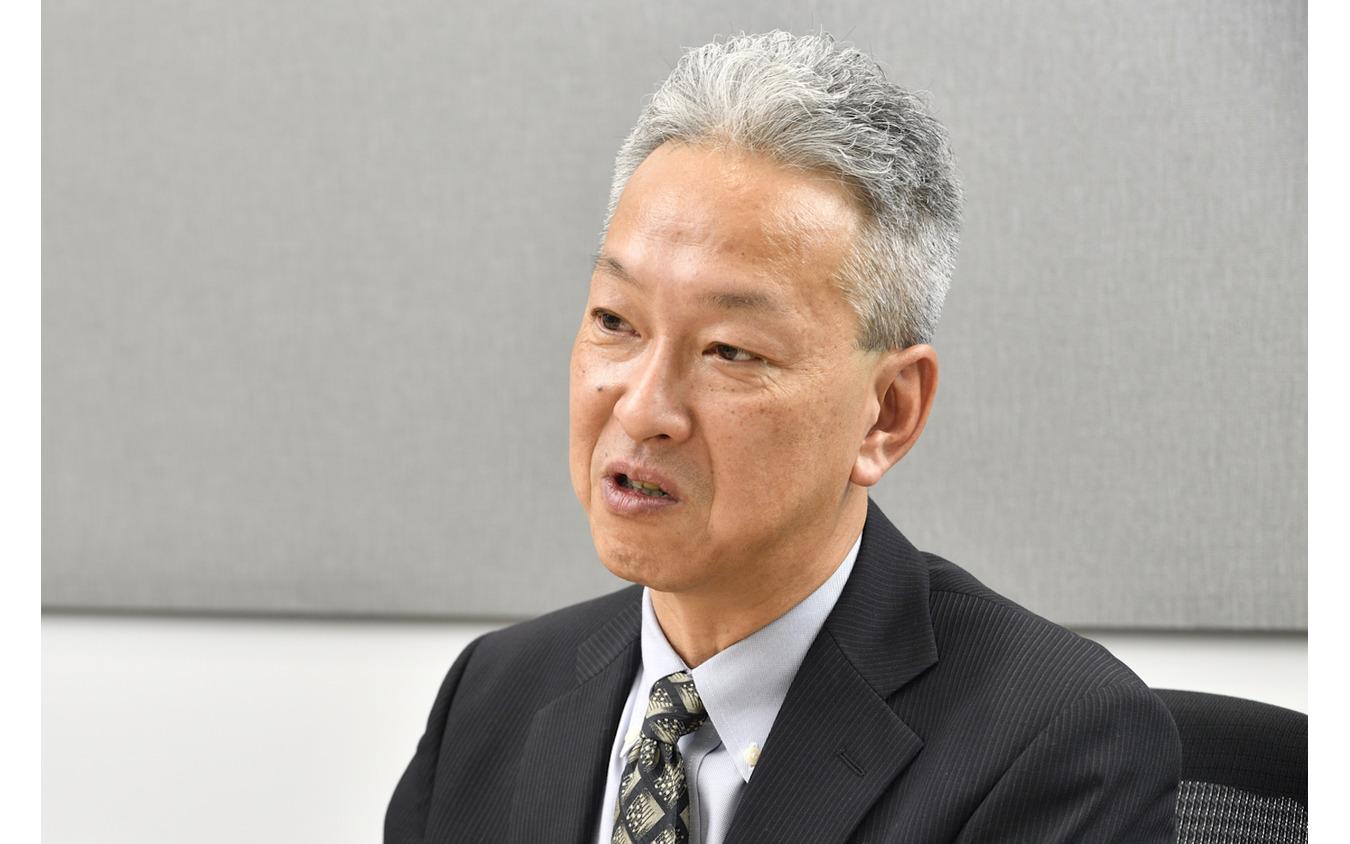 本田技術研究所四輪R&Dセンターの若城輝男主任研究員