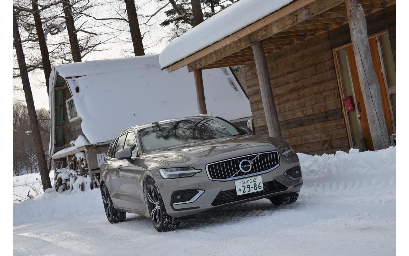 【ボルボ V60 新型試乗】過酷な冬の北海道 ボルボV60は何を魅せる…伊藤梓