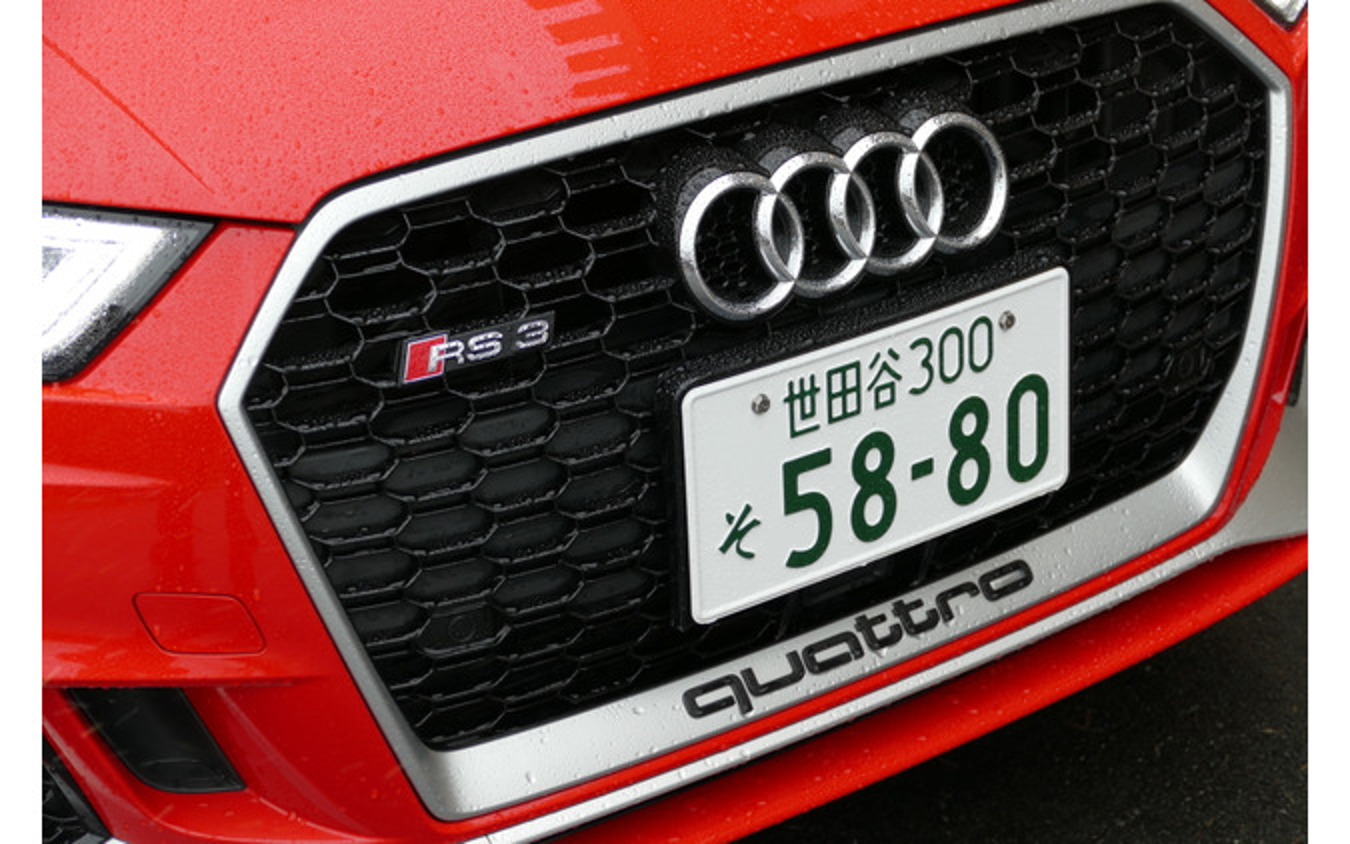 アウディ RS3セダン