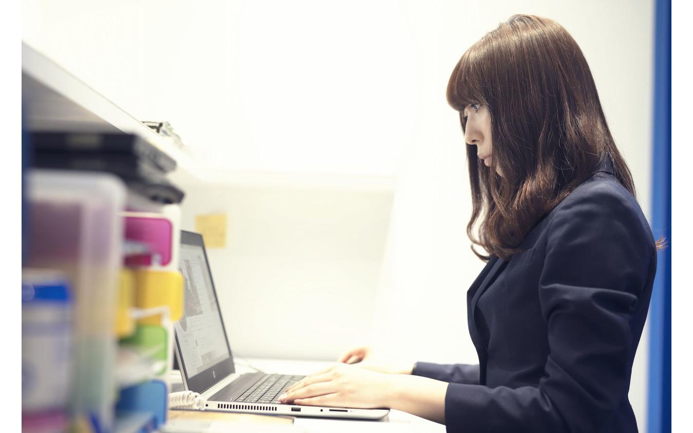 ADIVA株式会社でマーケティング・広報を担当する玉井里菜さん