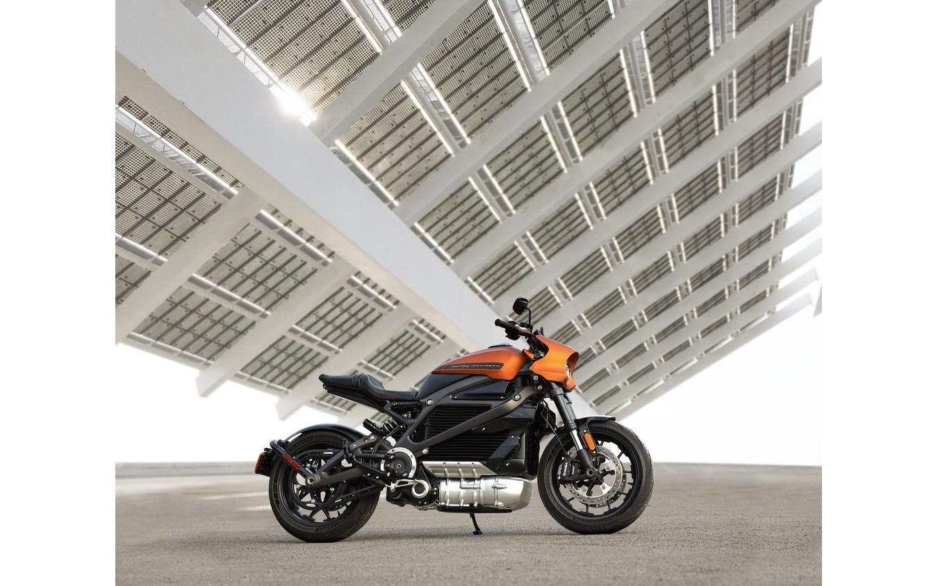 ハーレーダビッドソンの電動バイク「LiveWire」