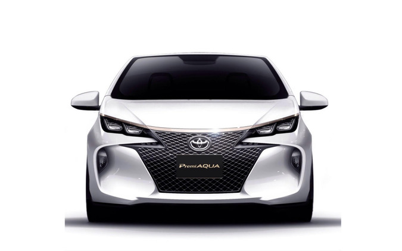 トヨタ自動車東日本のPremi AQUA
