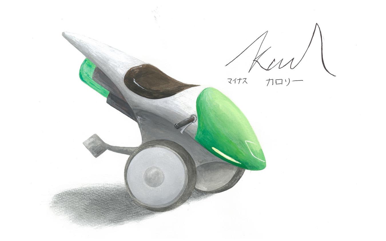 審査員特別賞『-kcal マイナスカロリー』 キム・ジョンミン君 東京韓国学校2年