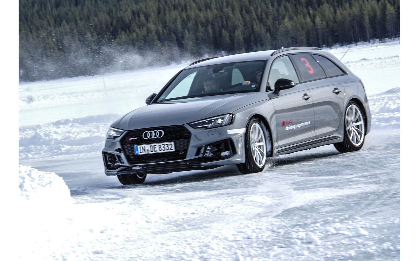 アウディ・アイス・エクスペリエンス・イン・スウェーデン(Audi Ice experience in Sweden)