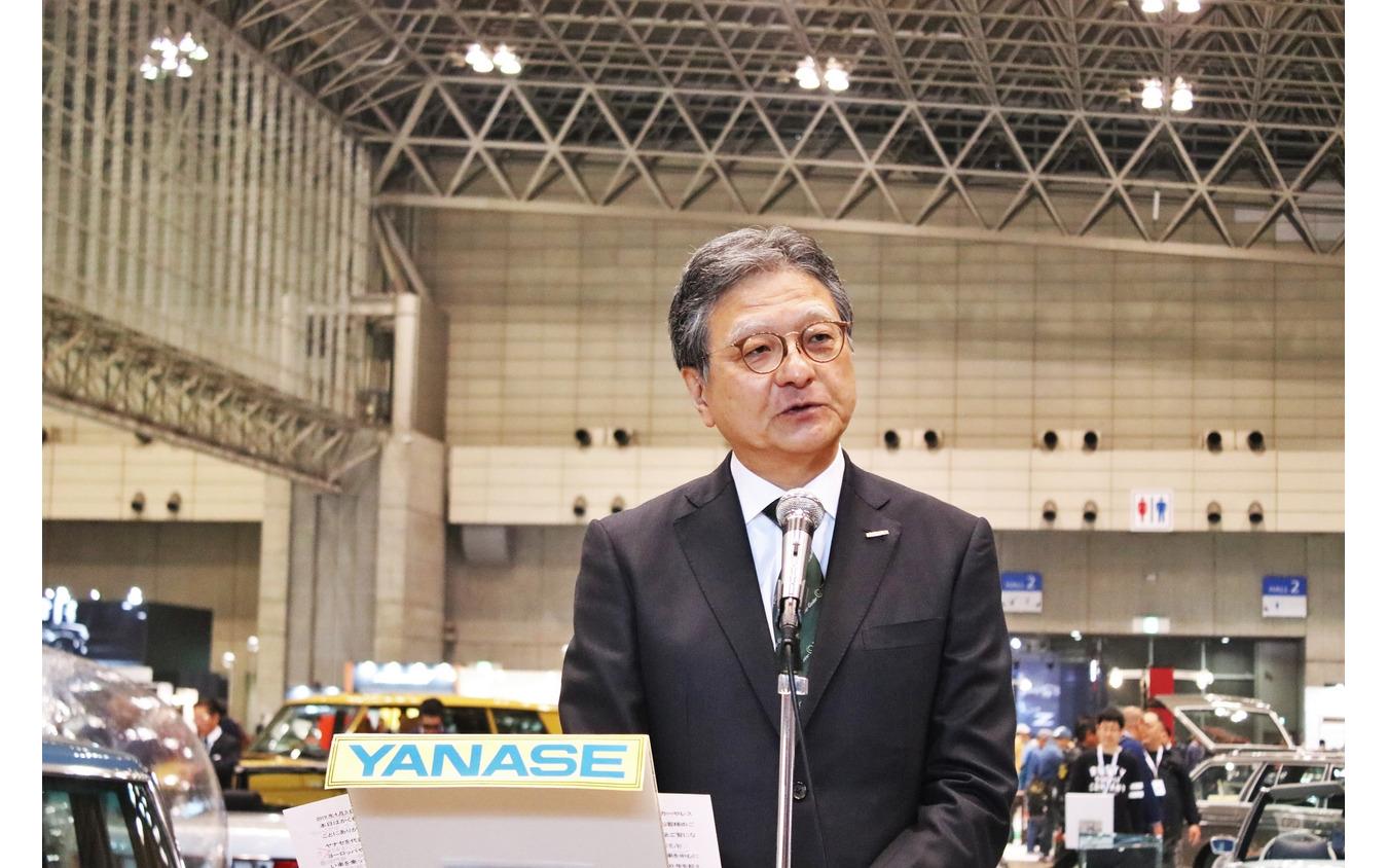 ヤナセ代表取締役社長の吉田多孝氏