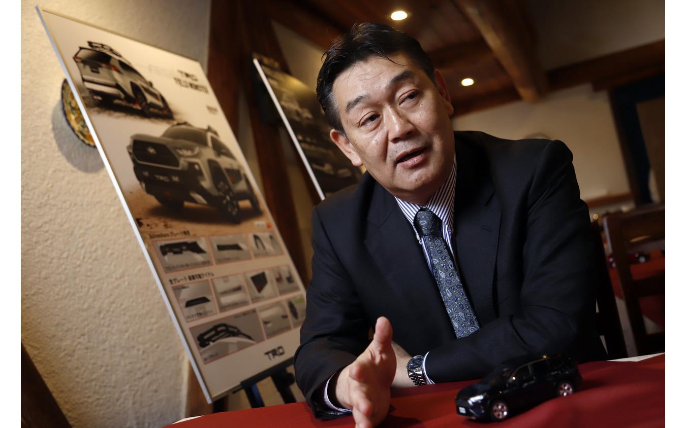 トヨタ RAV4 チーフエンジニアの佐伯禎一(さえきよしかず)氏