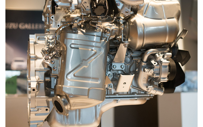 いすゞ エルフ 改良新型に搭載されているディーゼルエンジン