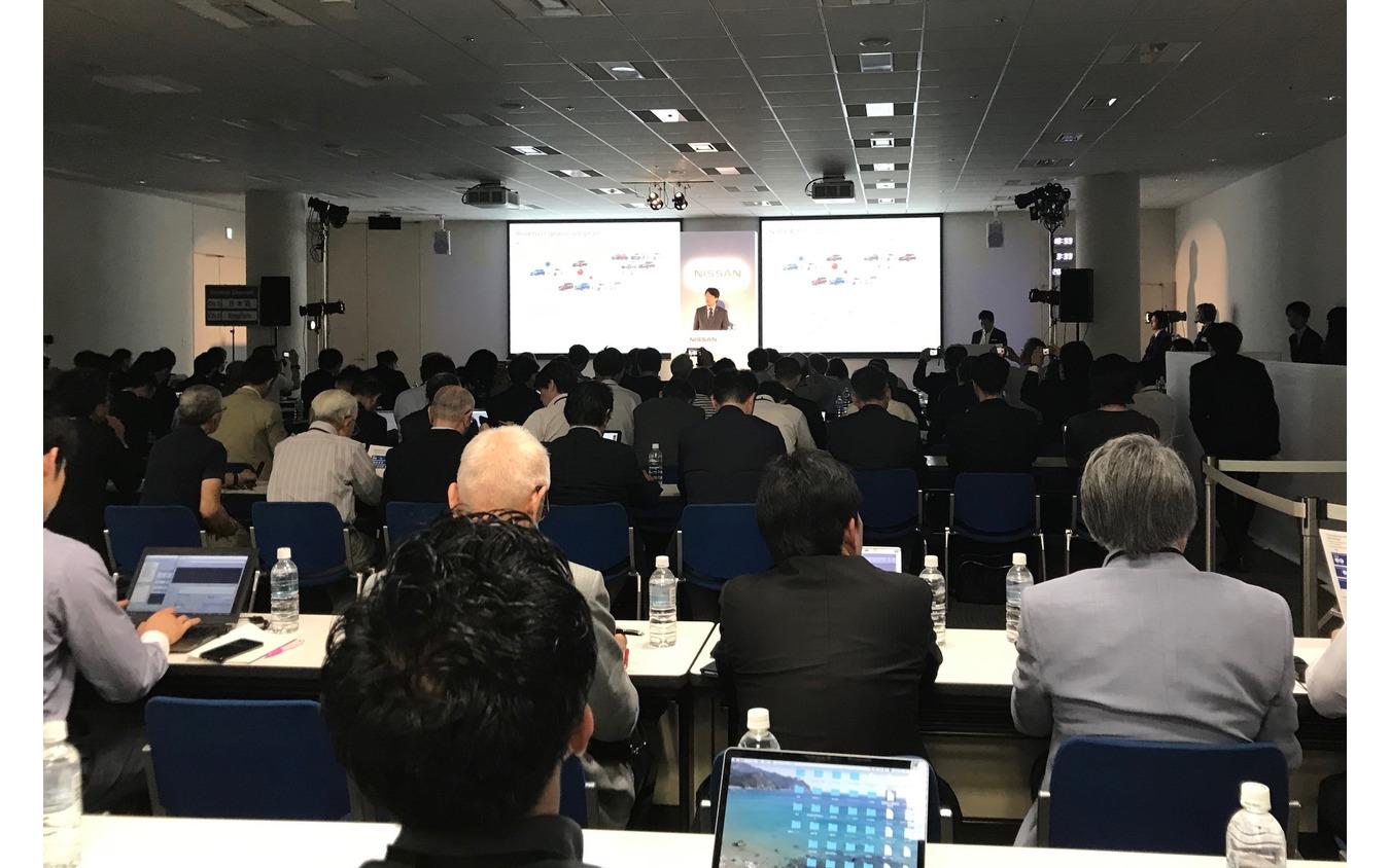 日産自動車プロパイロット2.0説明会(横浜市、グローバル本社)