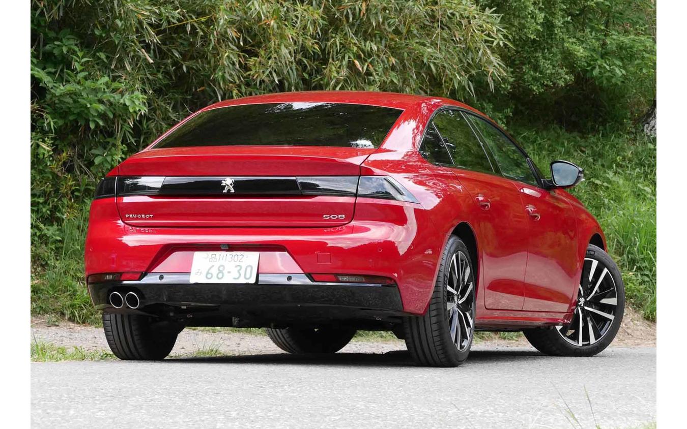 プジョー 508 新型(GT BlueHDi)
