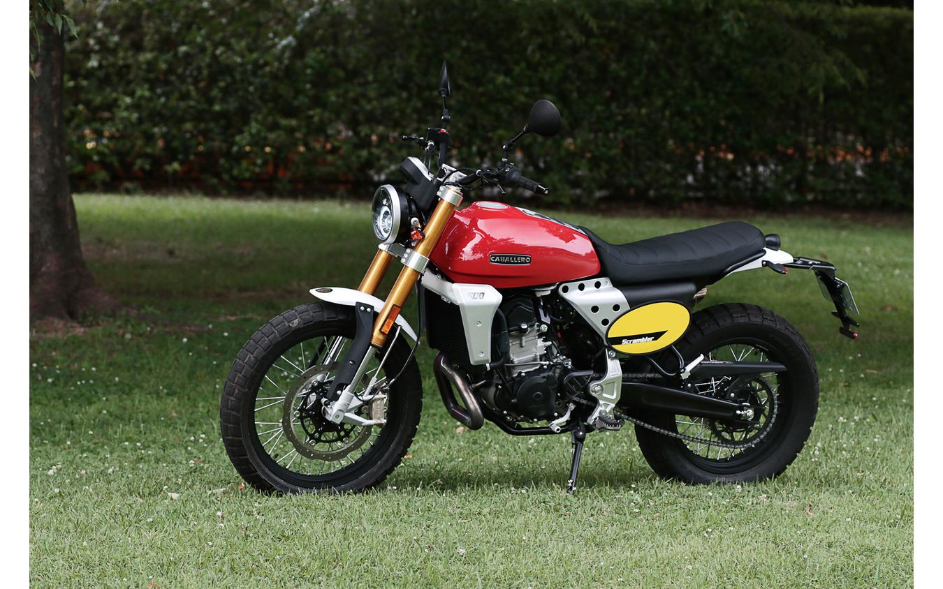 ファンティック・キャバレロ スクランブラー500