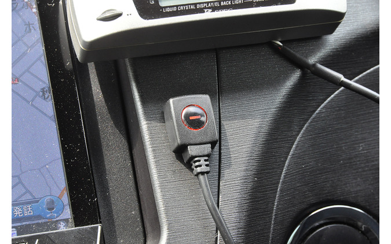 機能のON/OFFや、センサー感度の設定を行うことができる