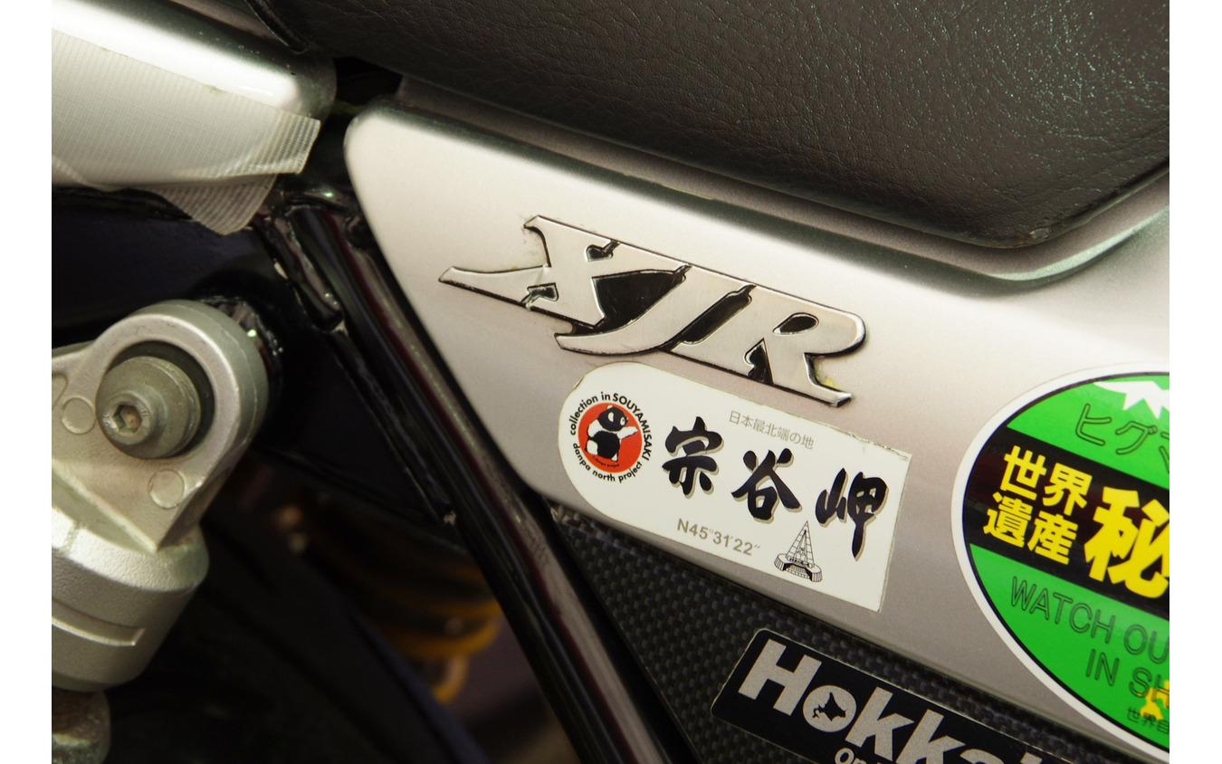 ゼロ・プラスBHSの車両保管庫には、北海道へ運ばれるバイクも