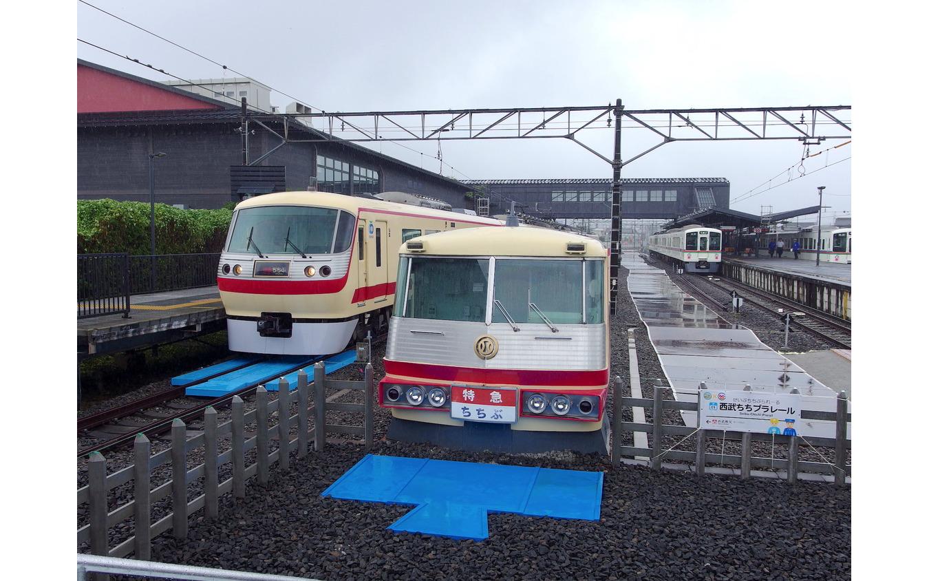 「西武ちちプラレール駅」(7月14日、西武秩父駅)