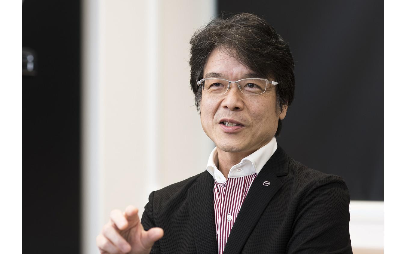 マツダ 執行役員 R&D管理・商品戦略・技術研究所担当 工藤秀俊氏