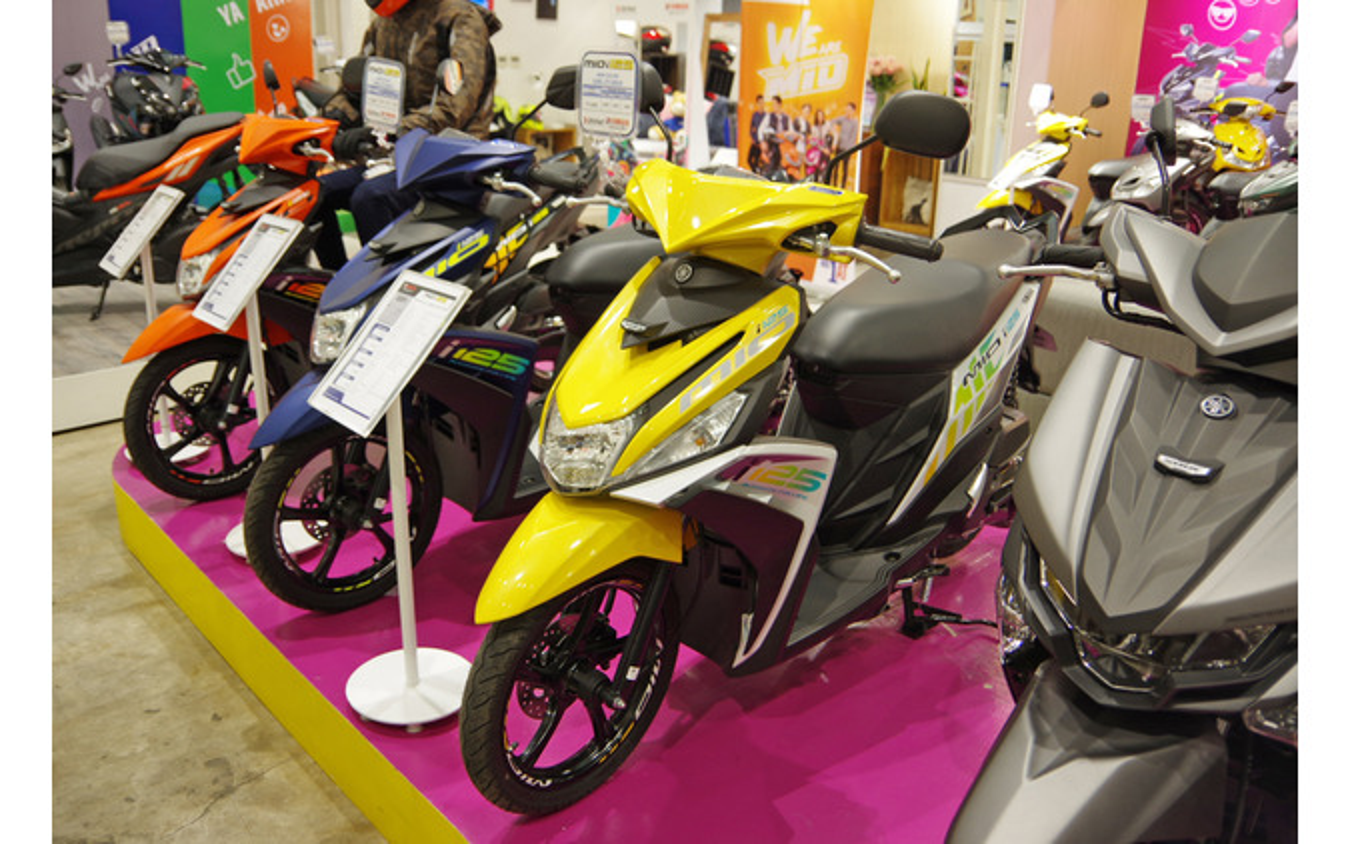 フィリピンでのヤマハの主力モデル「Mio」