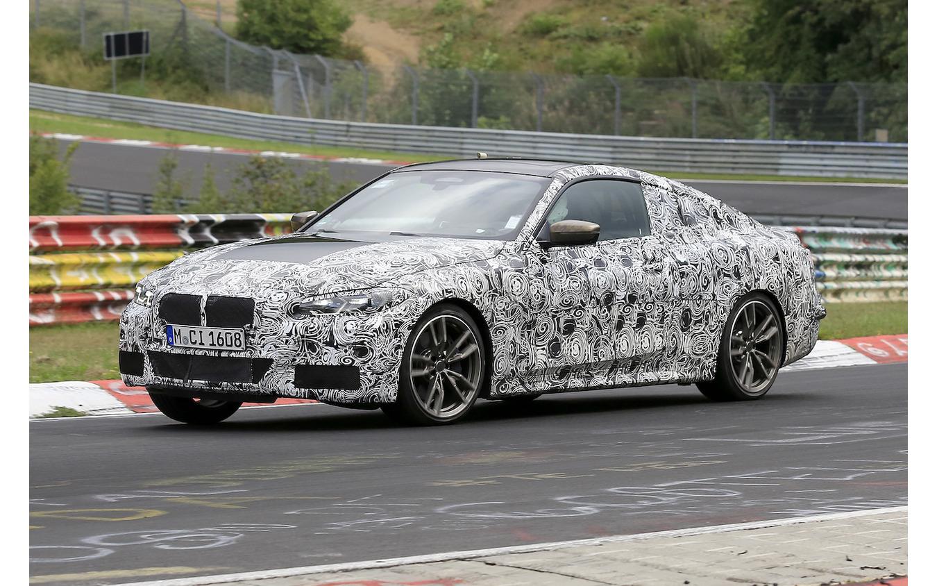 BMW 4シリーズクーペ スクープ写真