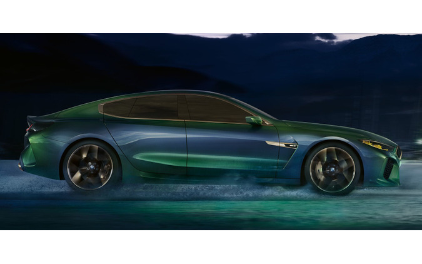 BMW コンセプト M8 グランクーペ(参考画像)