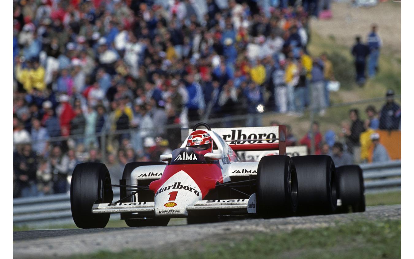 最後のF1オランダGPは1985年、ザントフォールト・サーキットで開催、優勝はニキ・ラウダ(マクラーレン)。