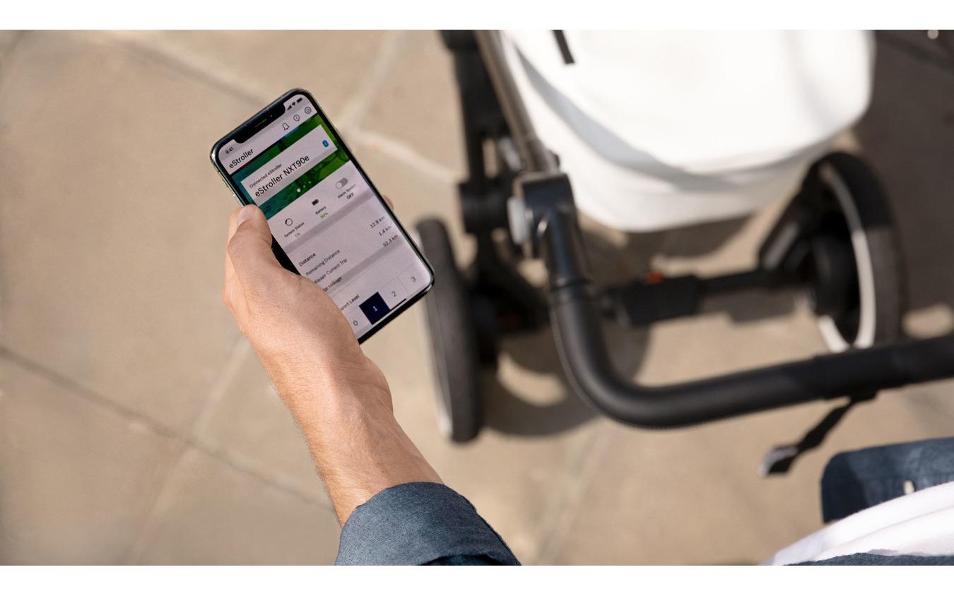 ボッシュのベビーカー向け電動アシストシステム「e-stroller」