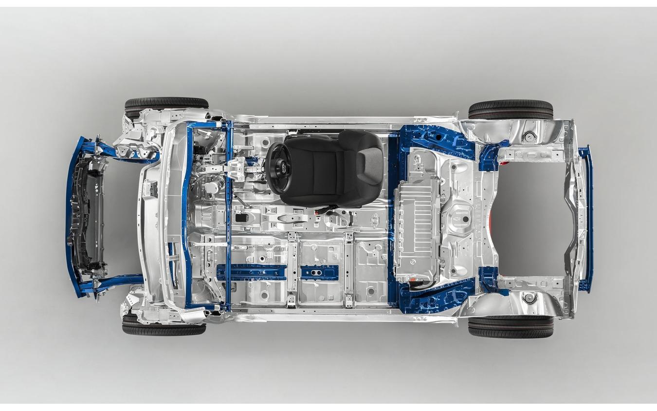 トヨタの次世代コンパクトカー向け車台「GA-B」