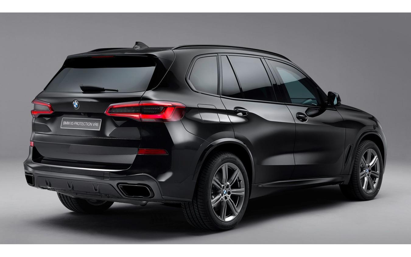 BMW X5 新型の防弾装甲仕様車「プロテクション VR6」