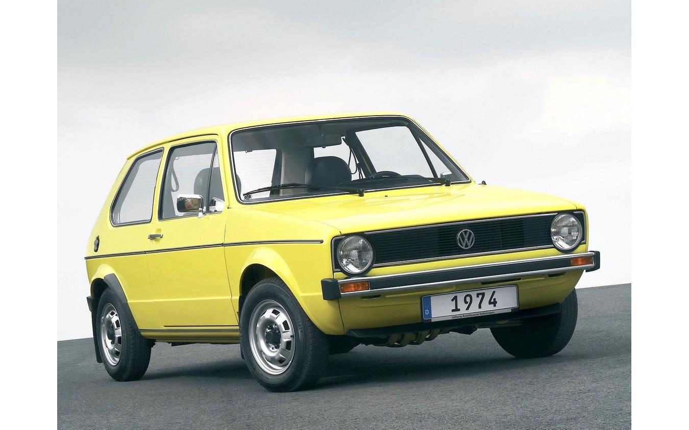 VW ゴルフ 初代(写真は海外仕様)