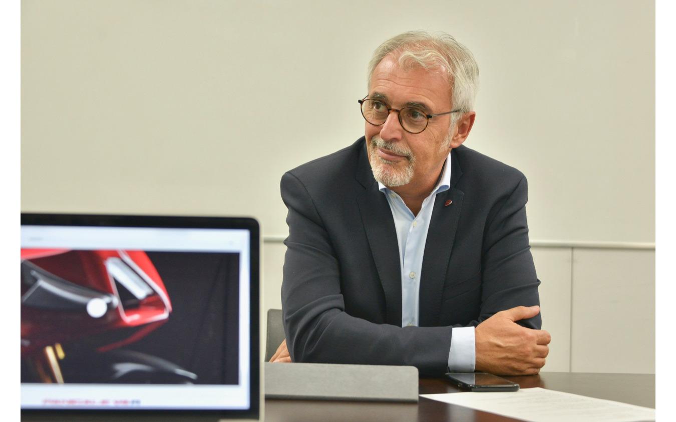 ドゥカティ・モーターホールディング コミュニケーションディレクターフランチェスコ・ラピザルダ氏