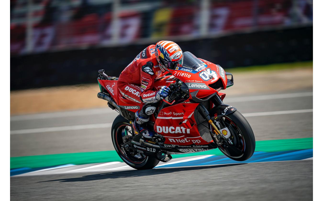 MotoGPにも継続的に参戦しているドゥカティチーム