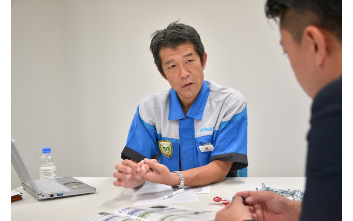 椿本チエイン チェーン製造事業部 商品企画部 輸送機商品課長 堀 暁雄氏