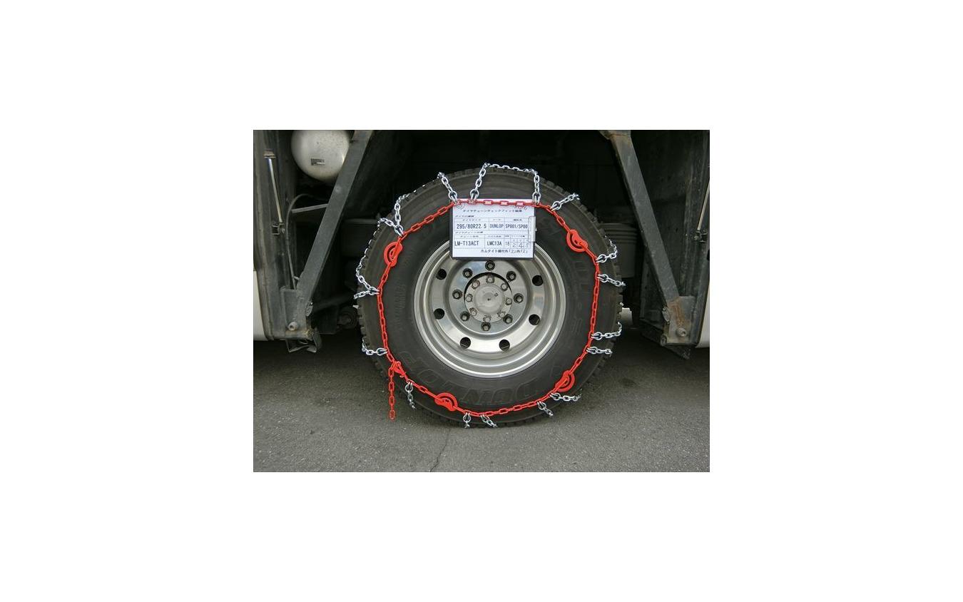 トラックの駆動方式や機構によって装着推奨位置が変わる