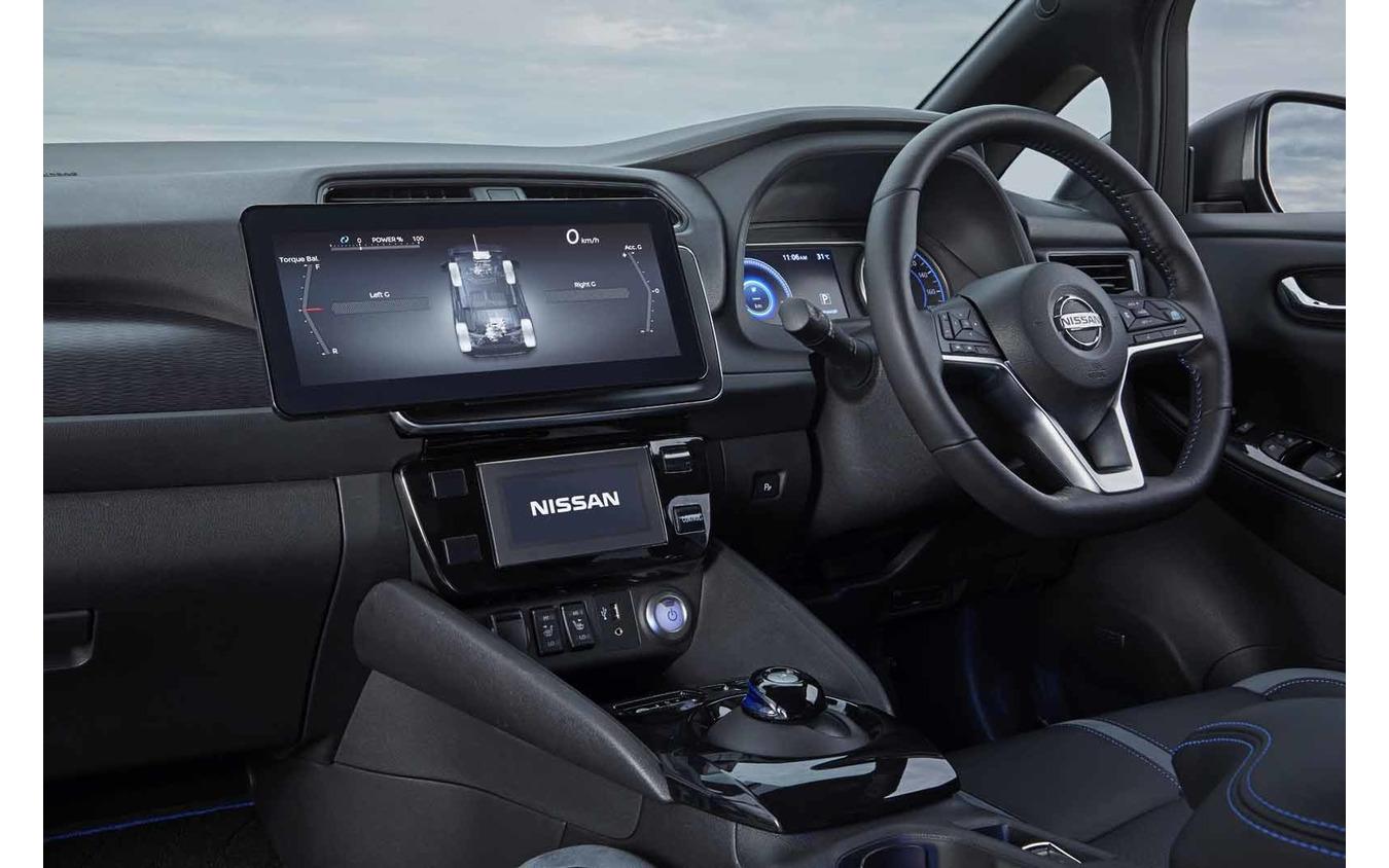 日産の新型電動SUV『アリア』に搭載される4輪制御技術のプロトタイプ車両