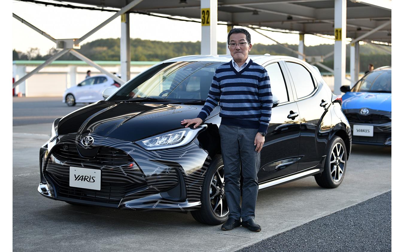 トヨタ ヤリス 新型(プロトタイプ)