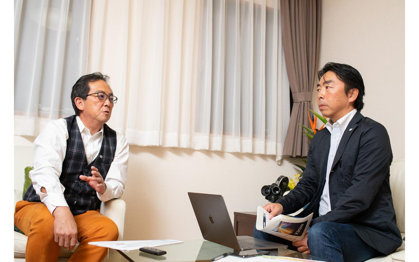 清水和夫氏と石井昌道氏