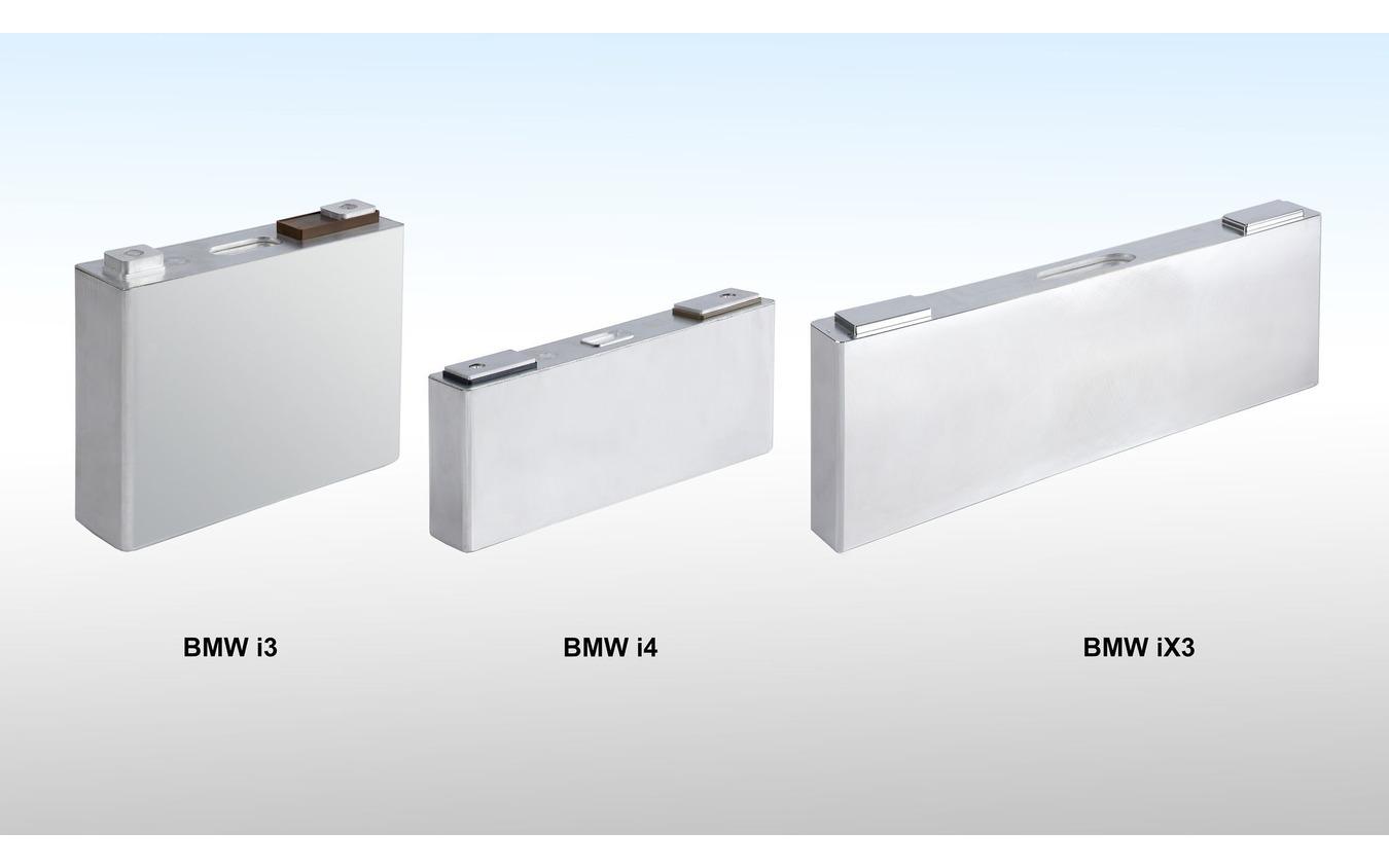 BMW iX3 のバッテリー