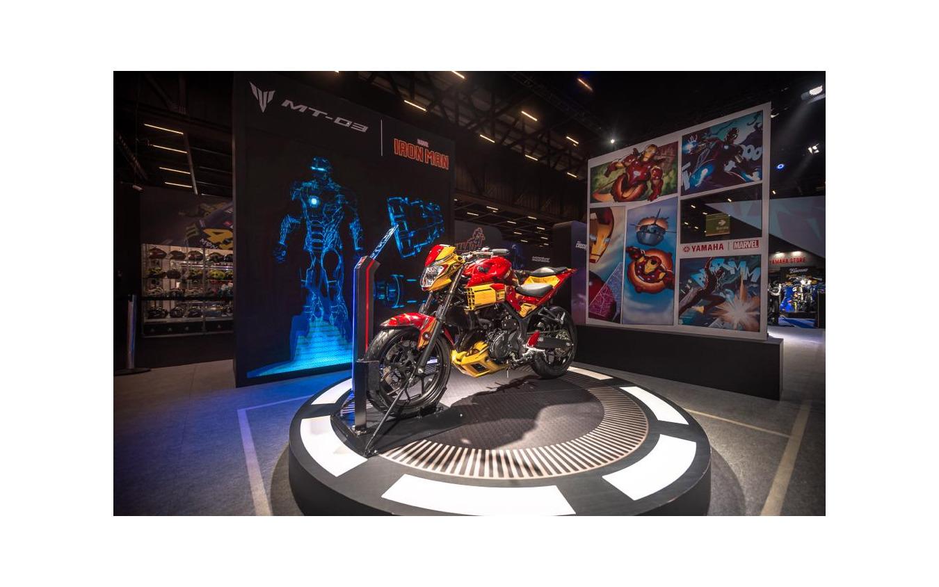 ヤマハ MT03 x Iron Man
