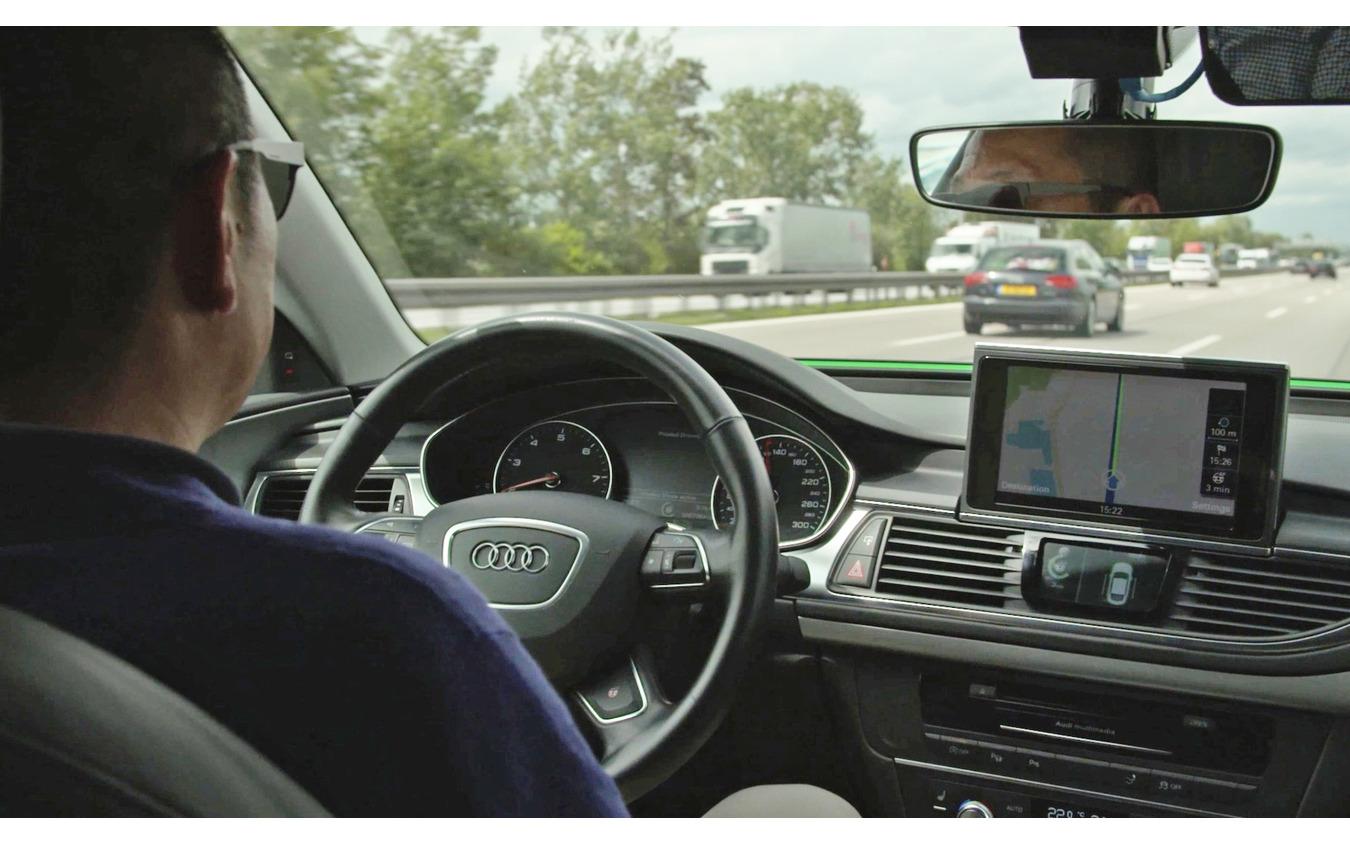 アウディのレベル3自動運転プロトタイプ車(参考画像)