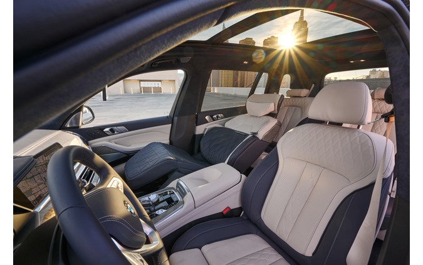 BMW X7 ゼロG ラウンジャー