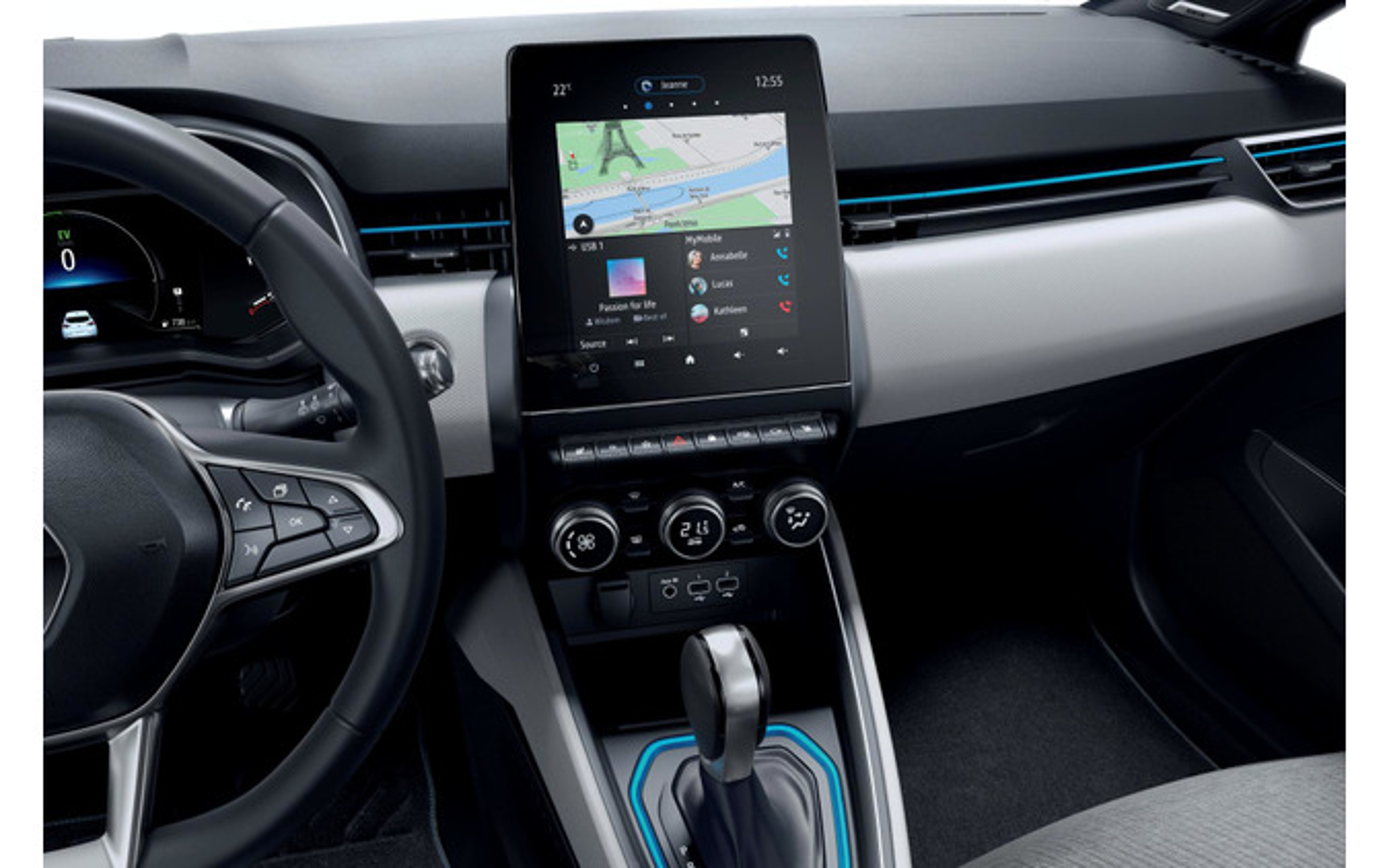 ルノー・クリオ (ルーテシアに相当)新型の「E-TECH」搭載車
