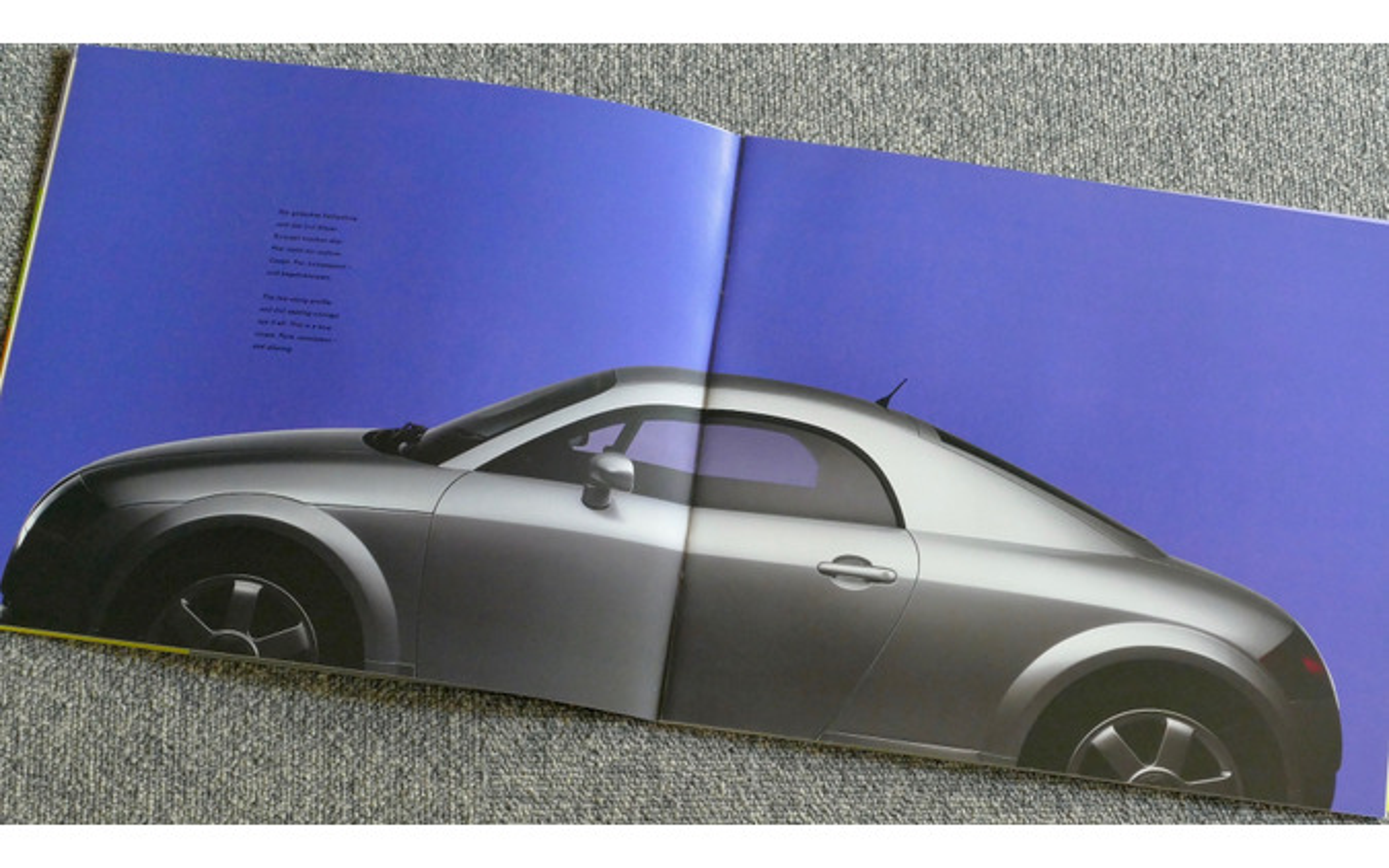 初代アウディ TT のカタログ