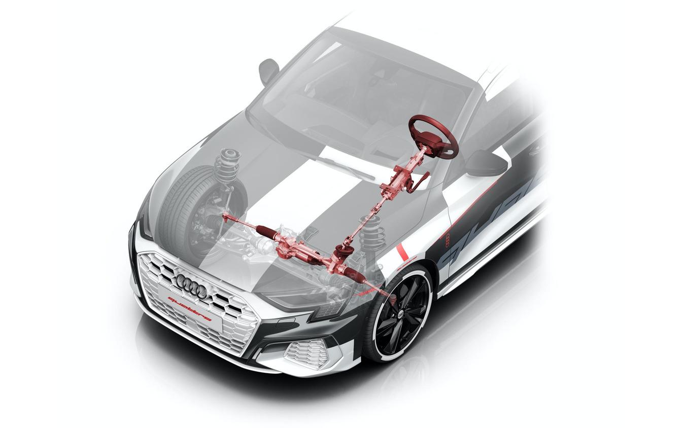 アウディ A3 スポーツバック 次期型のプロトタイプ