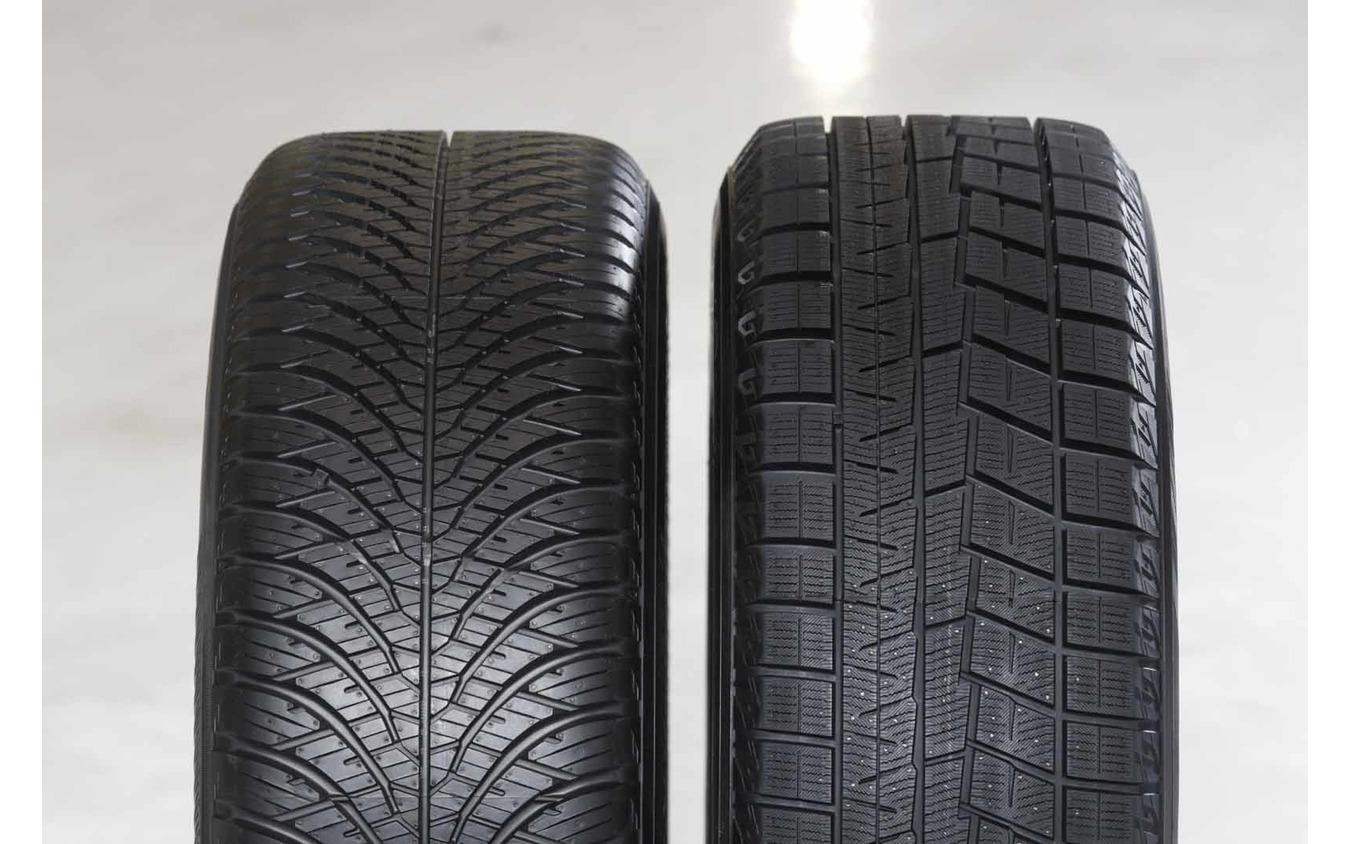 横浜ゴムのスタッドレスタイヤ『アイスガード6』とオールシーズンタイヤ『ブルーアース4S』を比較
