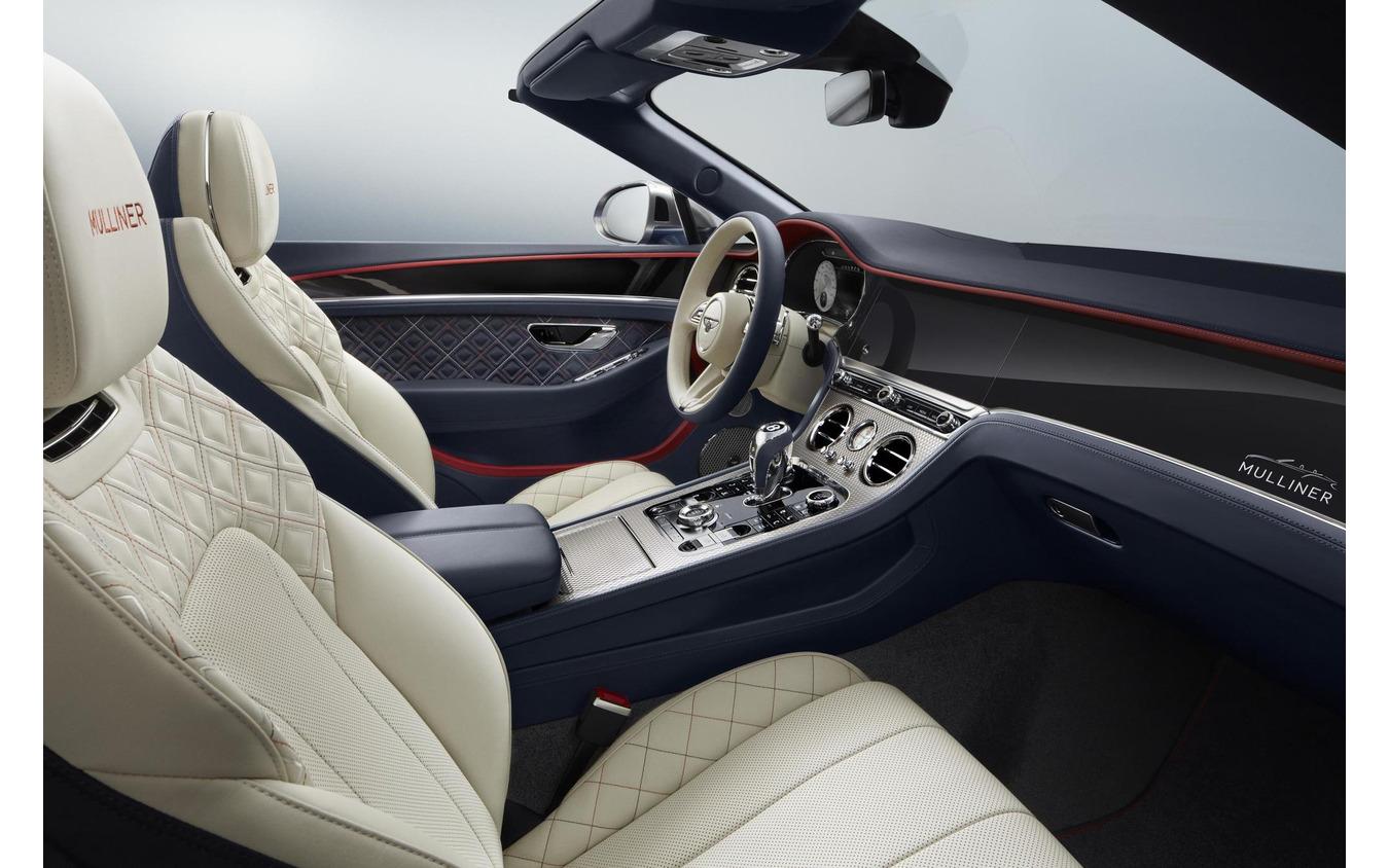 ベントレー・コンチネンタル GT 新型のマリナー・コンバーチブル