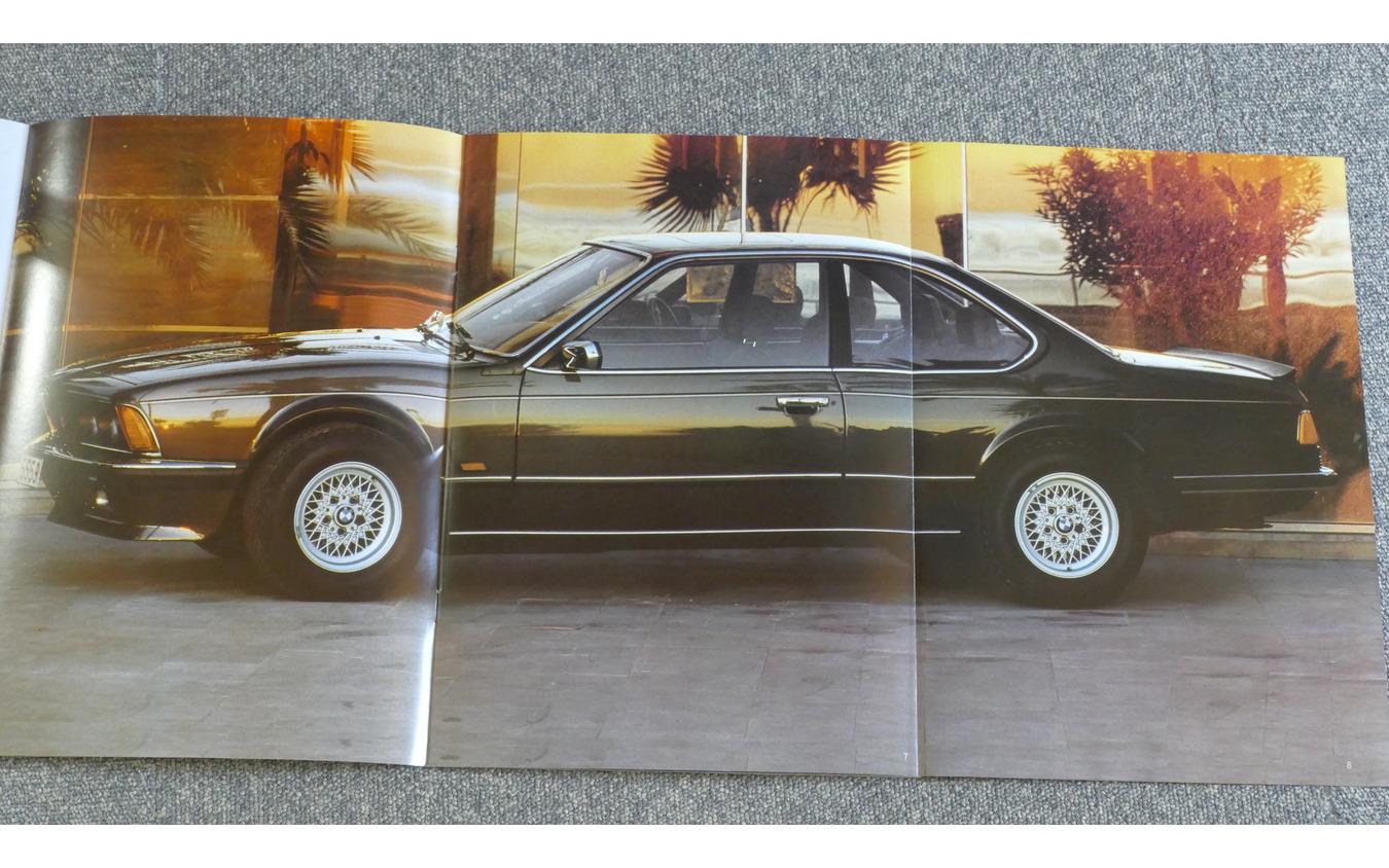 BMW 635CSiのカタログ