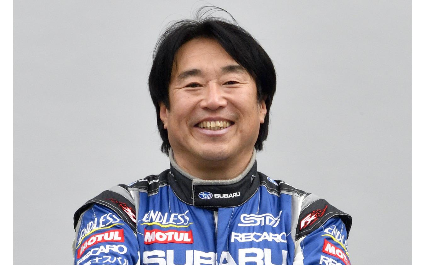 新井敏弘選手