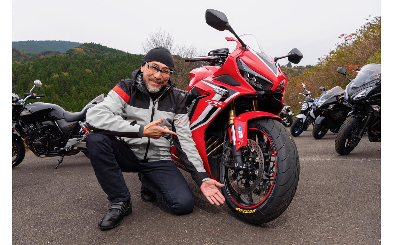 佐川氏によると、今回のベストマッチングはCBR650R!