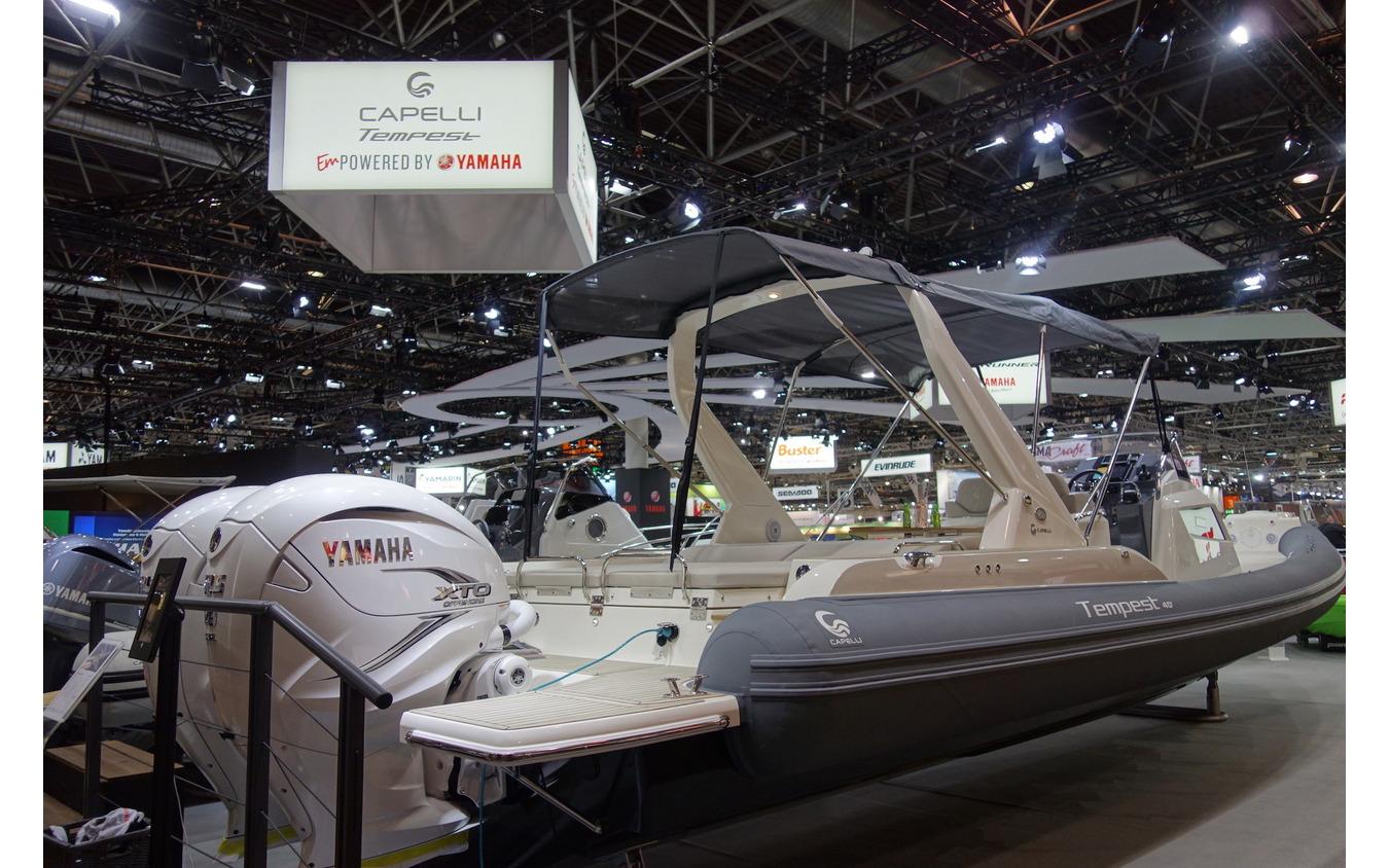 ヤマハブース(デュッセルドルフボートショー2020)